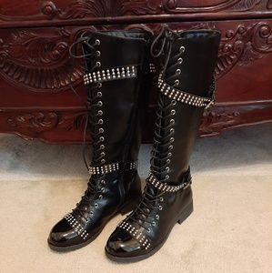 Studded Ladies boots